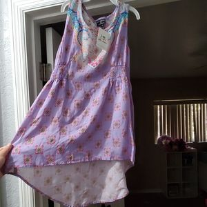 NWT Girls Boutique High Low Dress